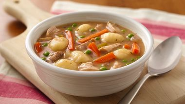 Slow-Cooker Chicken and Gnocchi Soup