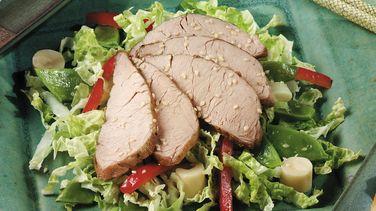 Asian Pork and Vegetable Salad