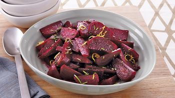 Slow-Cooker Lemon-Rosemary Beets