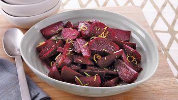 Slow-Cooker Lemon-Rosemary Beets