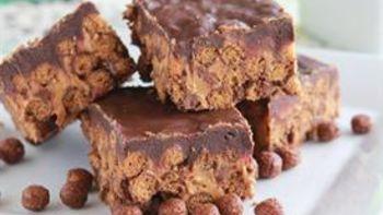 Peanut Butter Cocoa Crispy Bars