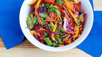 Rainbow Slaw Salad