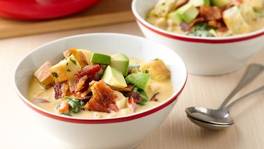 Turkey Club Soup