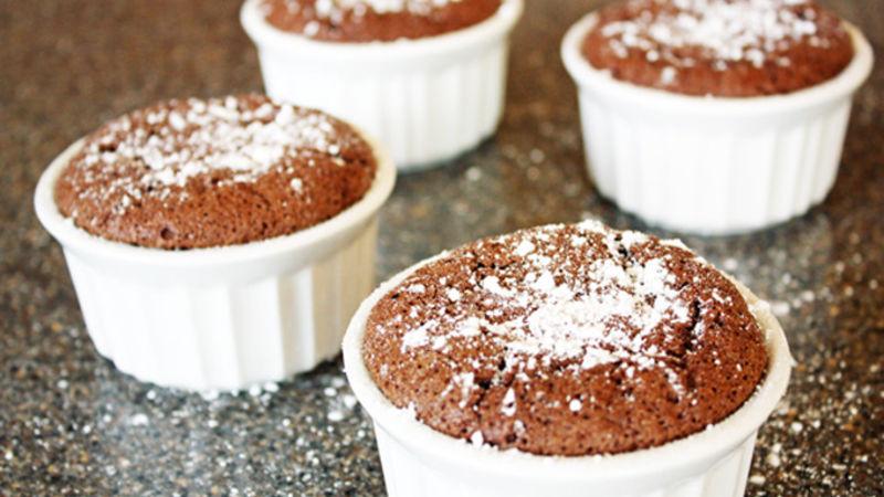 Mini Chocolate Souffles