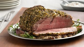 Herb-Rubbed Rib Roast