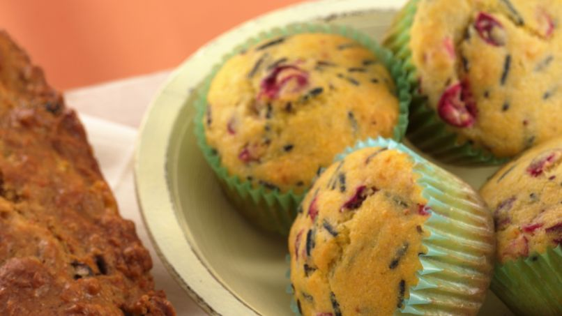 Wild Rice-Corn Muffins