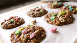 Oatmeal and Lucky Charms™ Cookies