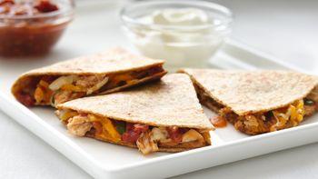 Skinny Chicken Quesadillas