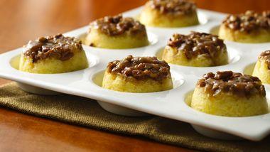 Gluten-Free Caramel Pecan Upside-Down Muffins