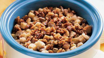 Slow-Cooker Apple-Walnut Stuffing