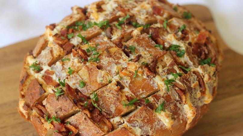 Cheesy Bacon Bread