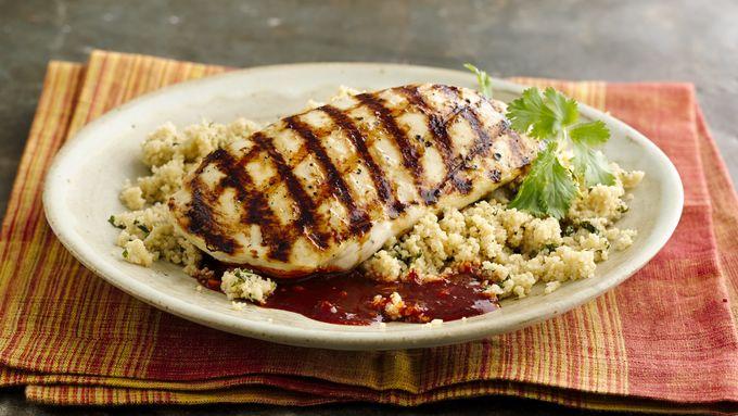 Skinny Grilled Harissa Chicken