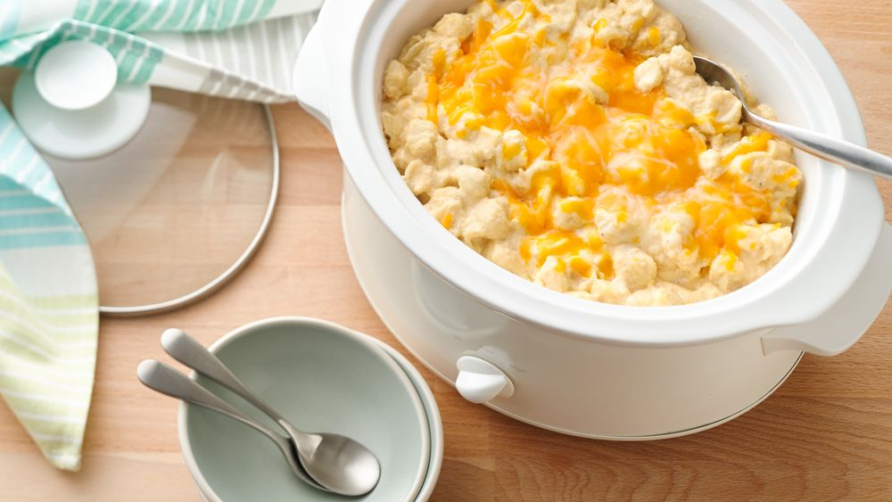 Slow-Cooker Extra-Cheesy Macaroni and Cheese