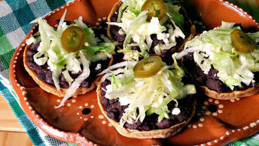 Black Bean Sopes