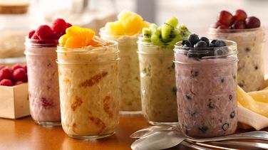 Color Your Own Overnight Oatmeal