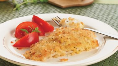 Crispy Herbed Fish Fillets