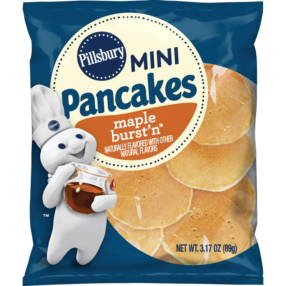 Bulk Buy Mini Pancakes Maple Burstn Pillsbury General Mills