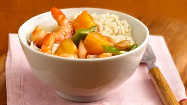 Simple Sweet and Sour Shrimp