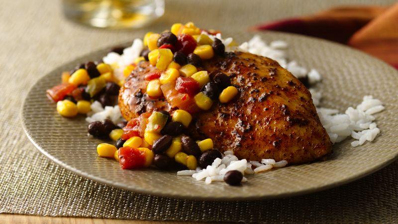 Spicy Skillet Chicken