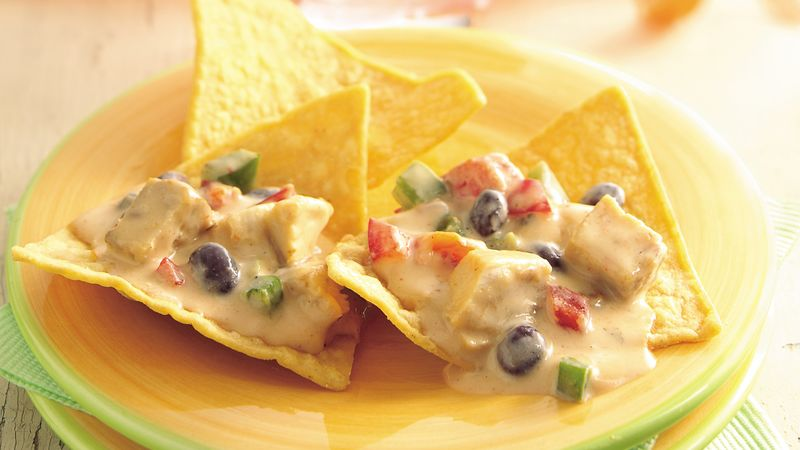 Slow-Cooker Southwest Chicken Nachos