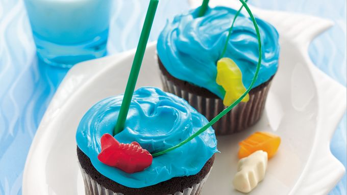 Goin' Fishin' Cupcakes