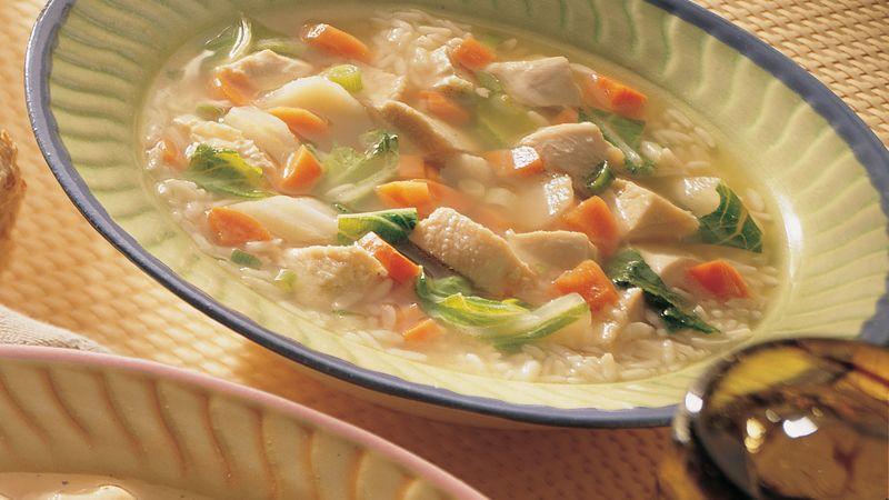 Asian-Style Big Bowl Soup