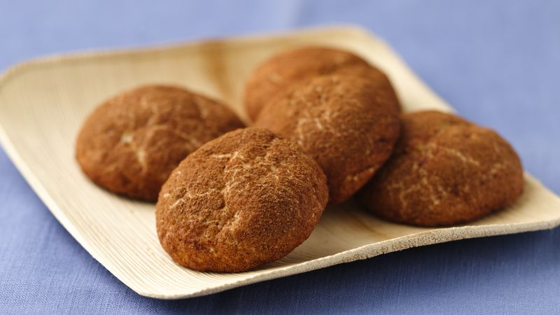 Skinny Cocoa Nutmeg Snickerdoodles