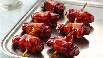 Mini Bacon-Wrapped Sausages