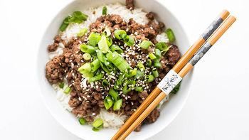 Simple Korean Ground Beef Bulgogi