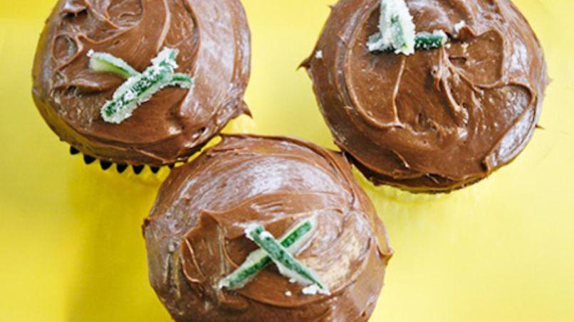 Pastelitos de Chocolate y Calabacín