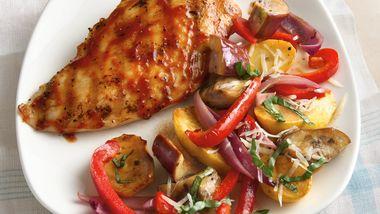 Grilled Balsamic Vegetables