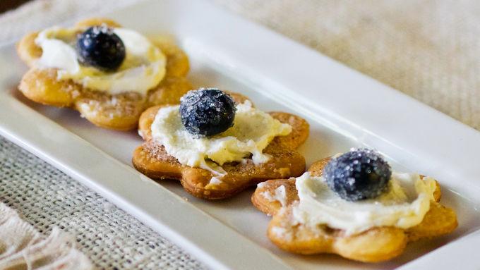Blueberry Cream Flatbread