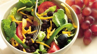 Fiesta Taco Salad with Beans