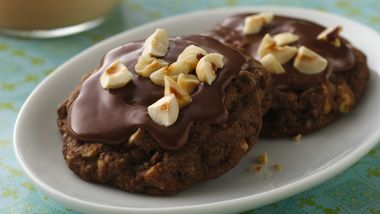 Choco-Hazelnut Latte Cookies