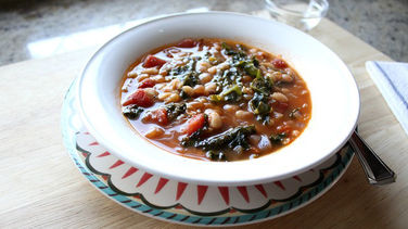 Chicken, White Bean and Kale Soup