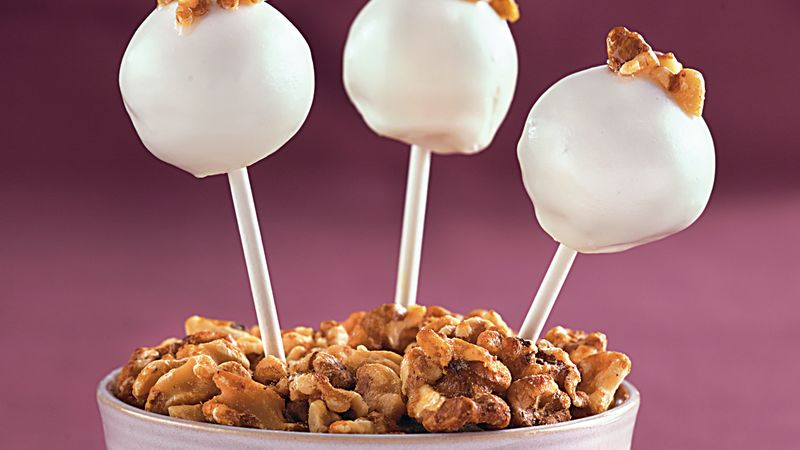Maple Walnut Cake Pops