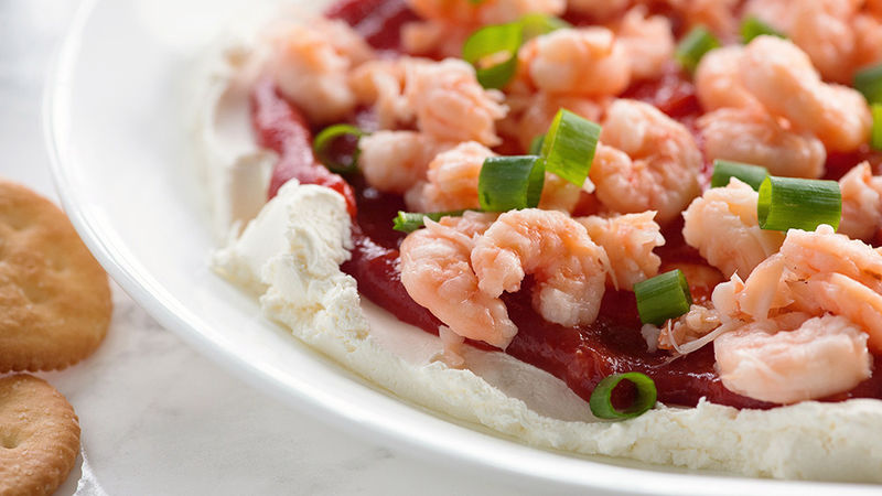 Four-Layer Shrimp Dip recipe - from Tablespoon!