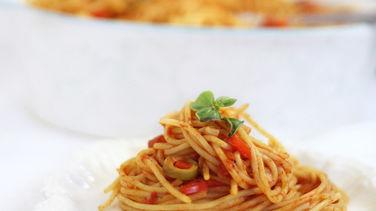 Spaghetti A La Criolla