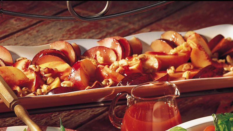 Peach and Plum Salad