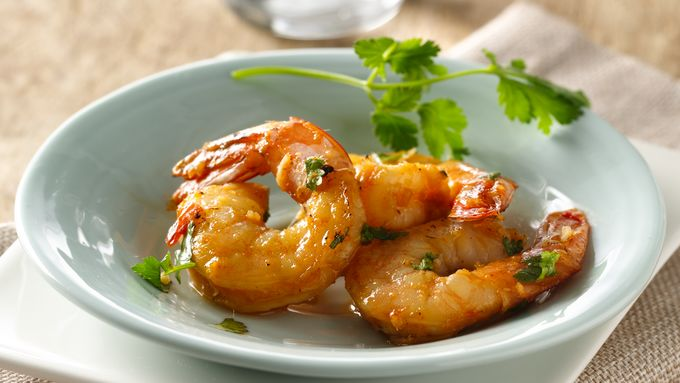 Spicy Chipotle, Lime and Ginger Shrimp