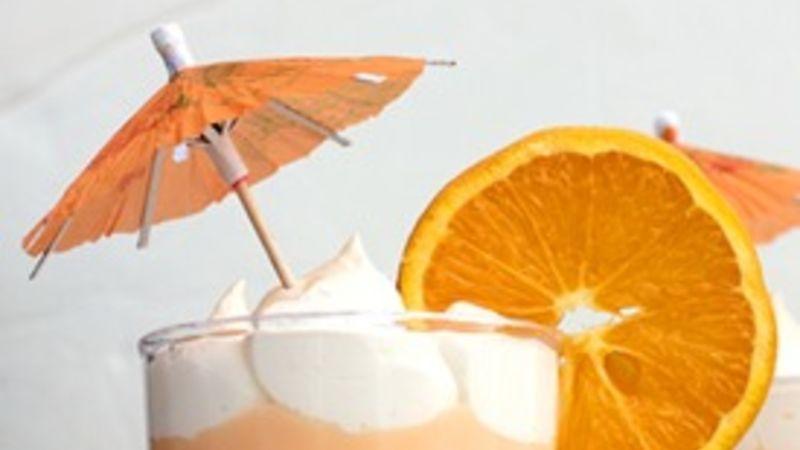 Orange Creamsicle Cups