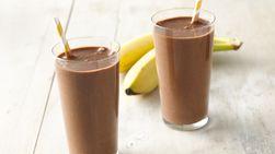 Batido Proteínico de Chocolate y Banana