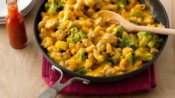 Turkey and Broccoli Cheeseburger Macaroni