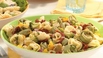Italian Tortellini-Vegetable Salad