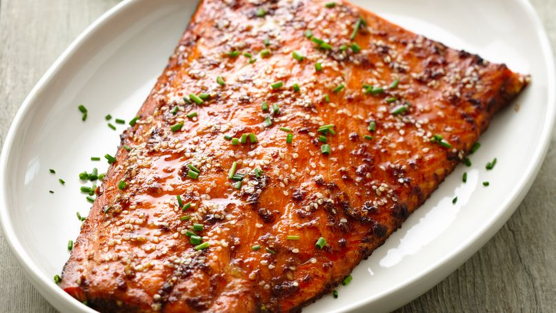 Gingery Salmon Bake