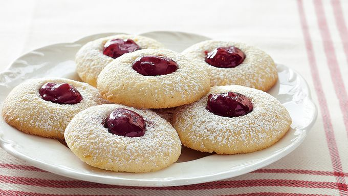 Raspberry-Orange Thumbprints