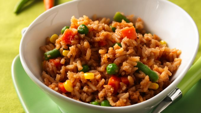 Garden-Style Red Rice