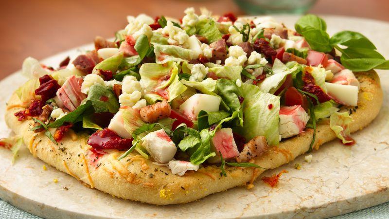 Italian Chopped Salad Pizzas