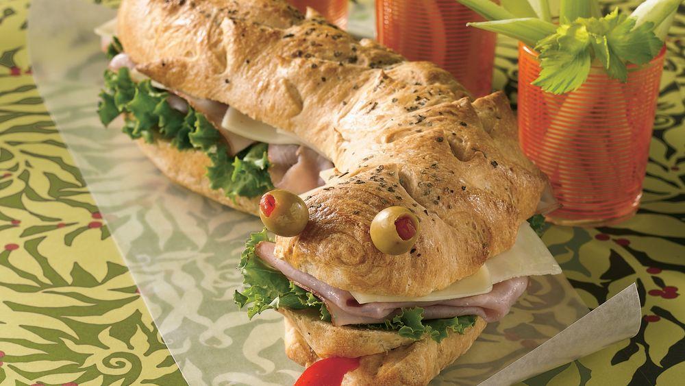 Sea Monster Sandwich