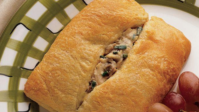Cashew Chicken Crescent Sandwiches